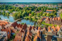 Lübeck Luftaufnahme