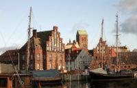 Maritimer Hafen in Wismar